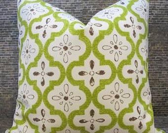 SALE Designer Pillow Cover - Moroccan Garden - 12 x 16, 12 x 18, 16 x 16, 18 x 18, 20 x 20 - Indoor/Outdoor