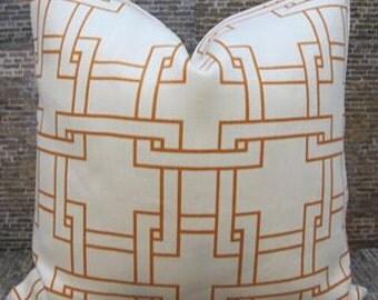 SALE Thom Filicia Designer Pillow Cover - 12 x 16, 12 x 18, 18 x 18 - Citysquare Terratone