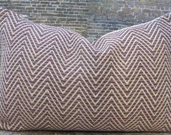 Designer Pillow Cover Lumbar 16 x 16, 18 x 18, 20 x 20, 22 x 22, 24 x 24 - Wisteria Duralee Amethyst