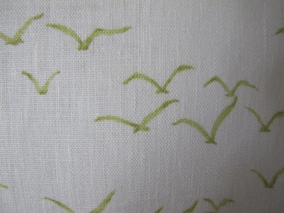SALE Designer Pillow Cover - 18 x 18 - Thom Filicia Birds Green