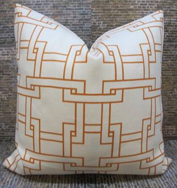 SALE Thom Filicia Designer Pillow Cover - 12 x 16, 12 x 18, 18 x 18 - Citysquare Terratone