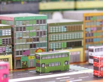 Post Car- Tram series ( set of 4 postcards)
