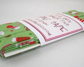 Bias Tape - Sweets in Green Handmade Single Fold Bias Tape, 4 Yards