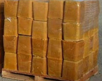 1 Lb Really Raw and 100% Natural Pure Beeswax from Beekeeper 1 pound