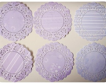 Parisian Lace Doily for Scrap booking or card making / pack