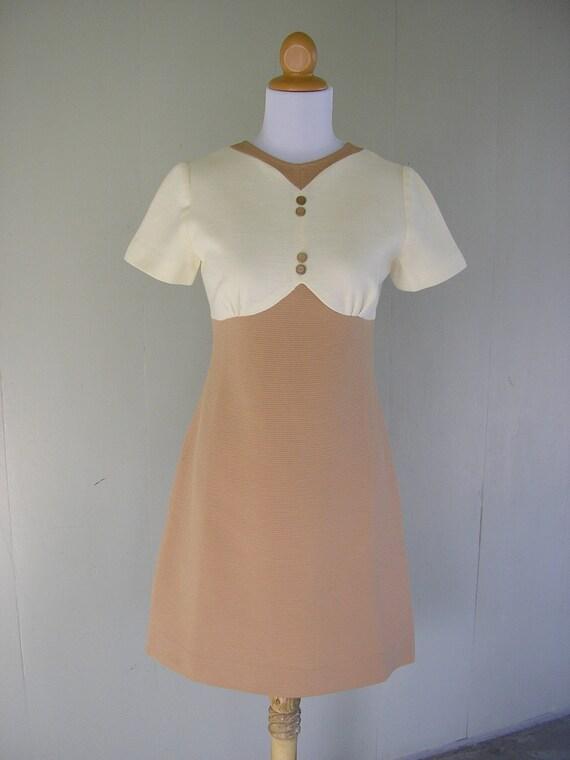 1960s dress / 60s Jack and Jill dress