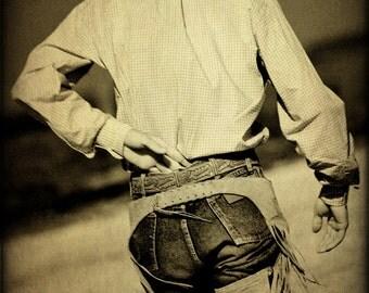 Cowboy Photography Western-Fine Art Print Southwest Home Decor-Rustic Photograph