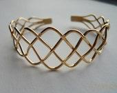 14K Gold Filled Braid Bracelet
