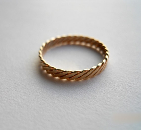 how to create milled gold ring