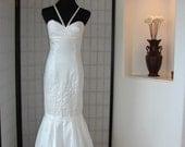 Hawaiian Mu umu u Wedding Gown