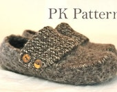INSTANT DOWNLOAD Knitting PATTERN (pdf file) - Lady Finkaas/Loafers U.S./Can. womens size 6-9
