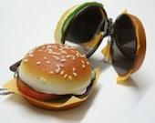 Cheese Burger pocket  mirror