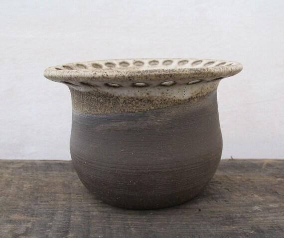 Handmade Pottery Earring Organizer // Ceramic Earring Display