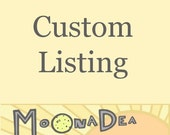 Custom Listing for MikisCraft
