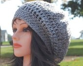 Everyday Slouchy Hat, Crochet Pattern, PDF Download PATTERN
