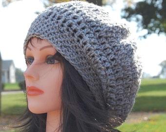 Everyday Slouchy Hat, Crochet Pattern, PDF Download PATTERN