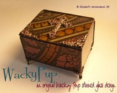 Handcrafted Lidded Box from Antique Stained Glass with Lid & Feet Unique Reliquary Gift Handcrafted Vintage Artisan OOAK