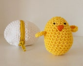 Crochet Amigurumi Pattern PDF - eggs & baby chicks - playful egg box TOY kids nursery gift - Instant DOWNLOAD