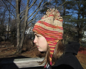Knit Unisex Ear Flap Hat
