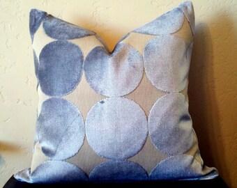 Dwell Studio Plush Dotscape Dove Pillow Cover
