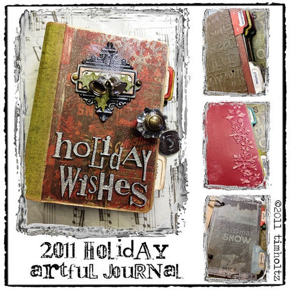 holiday artful journal kit...
