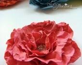 Handmade paper flowers - wedding favors or embellishment - 4 per box