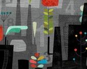 """Flower Factory 11""""x14"""""""