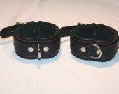 Leather Bondage Cuffs (wrist or ankle)