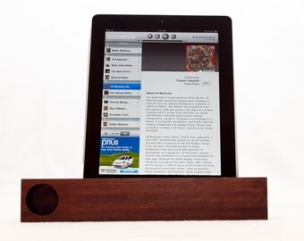 iPad & iPad Mini Acoustic Speaker (walnut)