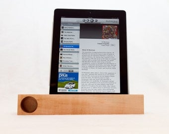 iPad & iPad Mini Acoustic Speaker (maple)