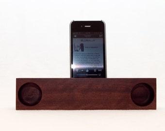 iPhone Acoustic Speaker (walnut)