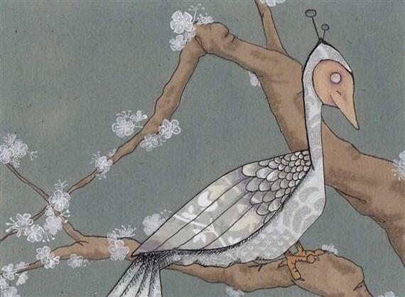 Original Art Illustration- Birdman