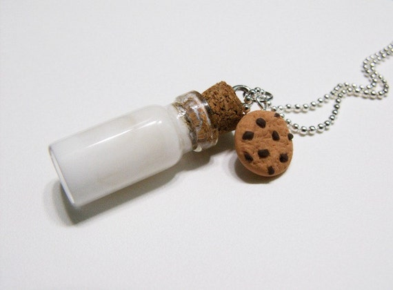 Milk and cookie Pendant