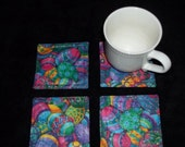Easter Eggs Coaster Set