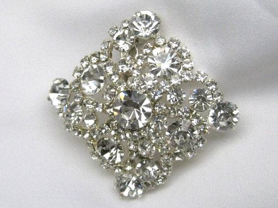 Wedding Brooches Sash Accessories, Wedding Bouquet, Wedding Crystal Rhinestone Brooch, Rhinestone Sash, Bridesmaid sash
