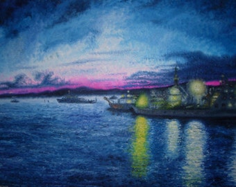 Boats in Twilight