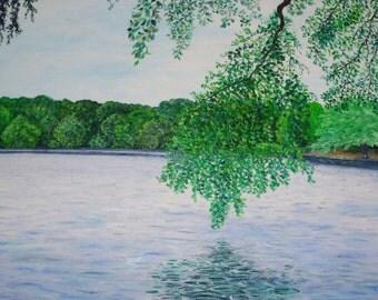 Prospect Park, Branch Over Lake