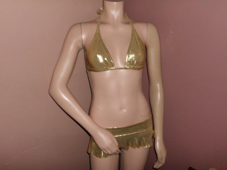 Stripper long skirt set