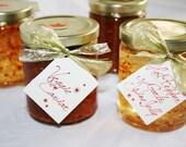 Veggie Caviar & Hot Garlic Pepper Wine Jelly