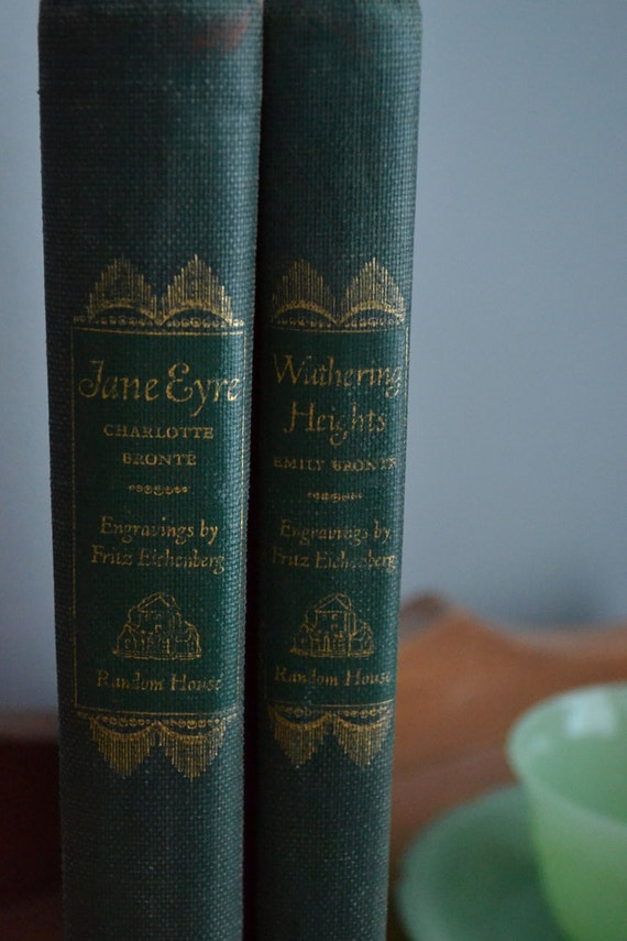 1940's Jane Eyre and Wuthering Heights Set