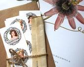 Pin-up Floral Envelope Sealers