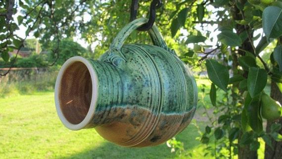 Bird House Wheel Thrown Pottery