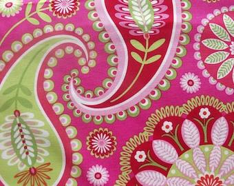 Gypsy Bandana Paisley - Pillow & Maxfield- Michael Miller Fabric- 1/2 YARD