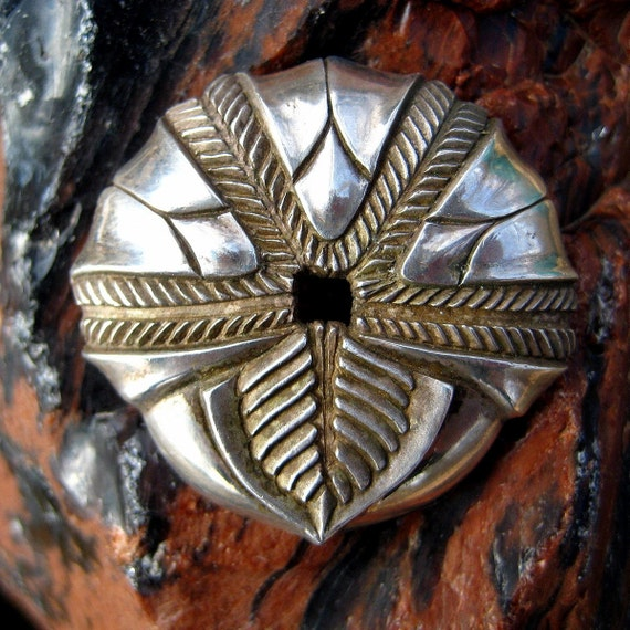 Fossil Neclace or Pendant, Ancient Blastoid
