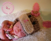 Crochet Baby Hat, Sock Bunny, Hat, Bunny, Crochet Easter Hat, Baby Girl, Easter Bunny Hat,Flap Hat, Baby Sock Bunny, Baby Hat, READY TO SHIP