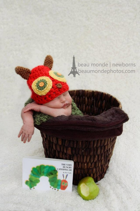 Very Hungry Caterpillar  Baby Outfit