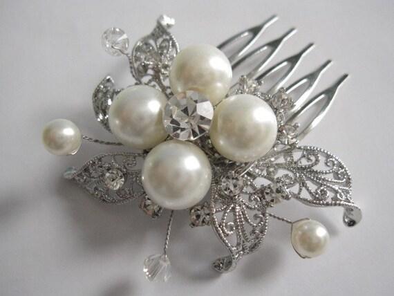 wedding hair combs bridal hair comb wedding hair pieces bridal haircomb crystal bridal headpiece wedding accessory bridal hair accessory