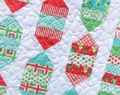 Quilt Pattern - Confection Connection - Layer Cake or Fat Quarters - Easy Lap or Crib size  - PDFINSTANT DOWNLOAD