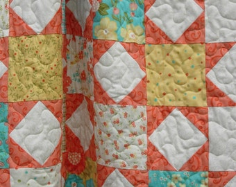 Instant Download - Quilt Pattern  -  Twinkle Twinkle Nickel Stars - Easy  -  Charm Squares - Crib or Throw - PDF
