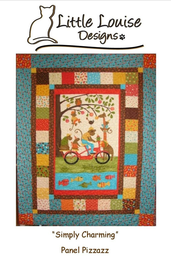 Quilt Ideas For Panels : Quilt Patterns Simply Charming Panel Pizzazz Quilt Pattern